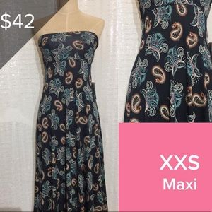 Brand new LuLaRoe XXS Maxi
